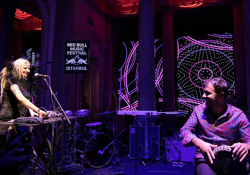 Red Bull Music Festival IstanbulŞehri Müziğe Doyuracak