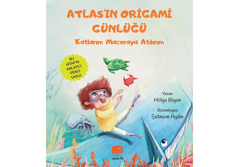 Uçan Fil'den Çocuklara Hem Renkli Hem De Sürprizli Kitaplar