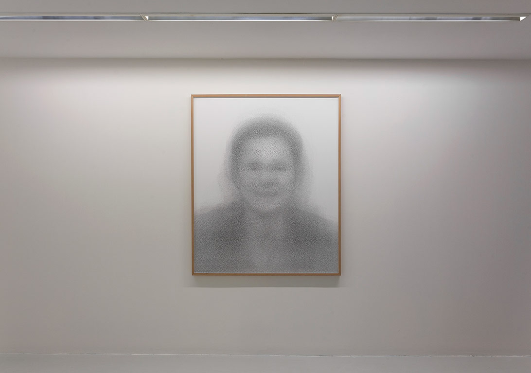 The Portrait, 2015 Fine art print on Hahnemühle photo rag ultra smooth 305 g/m2 120 x 144 cm5+2