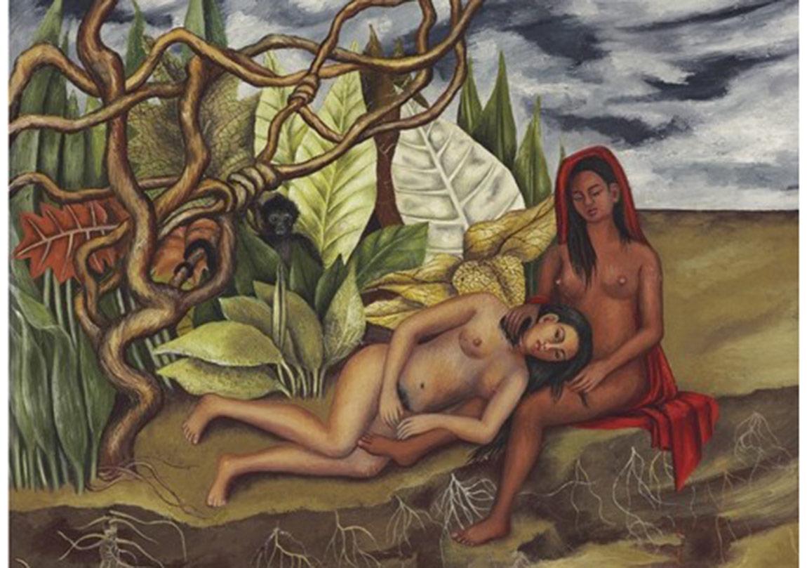 Dos Desnudos en el Bosque (La Tierra Misma) (Ormanda İki Nü (Toprağın Kendisi))
