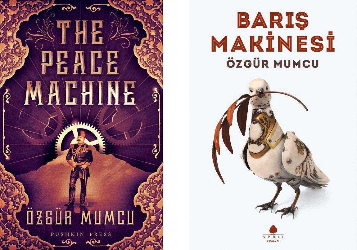 """""""Barış Makinesi"""" EBRD Edebiyat Ödülü Finalistleri Arasında"""