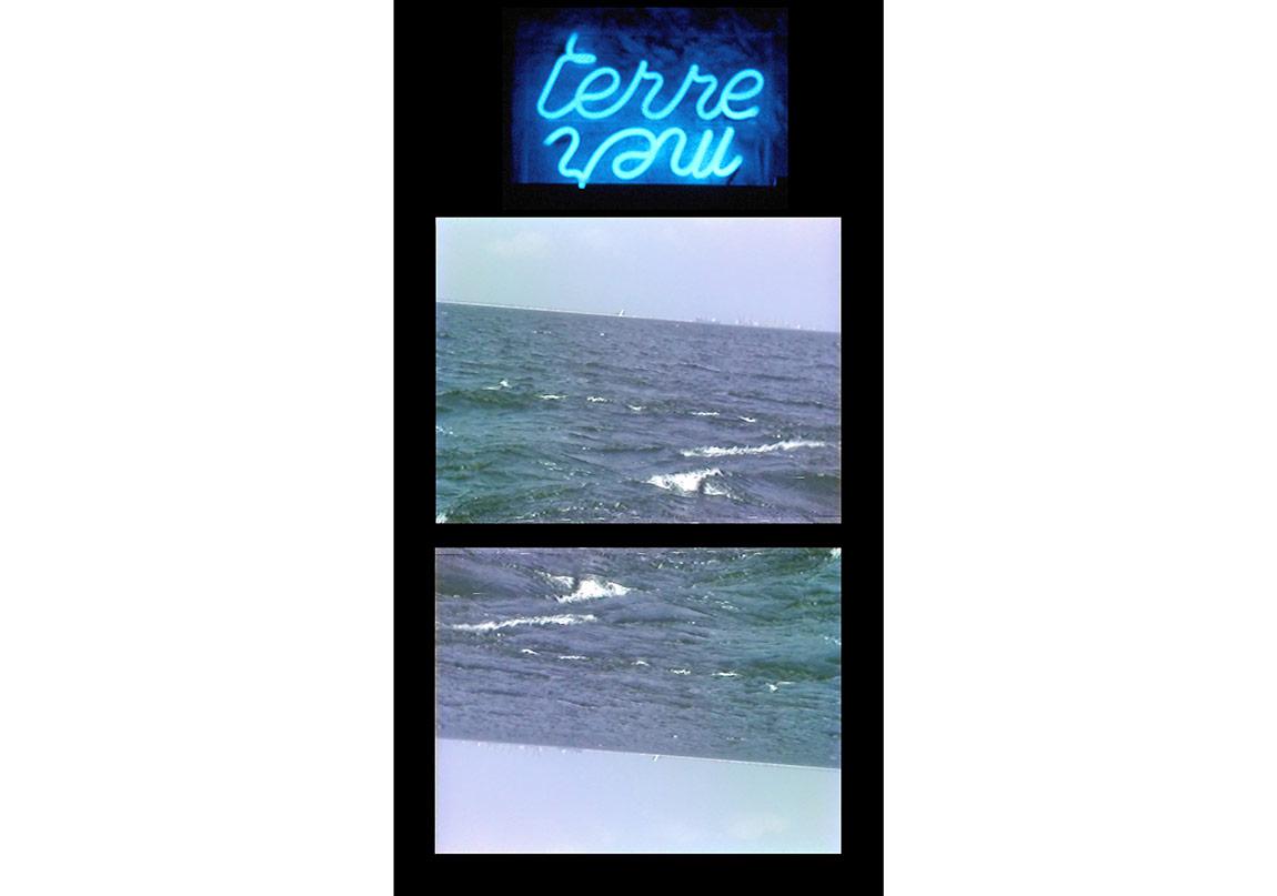 Deniz Meslekleri1982İki kanallı video ve neon yerleştirmeDeğişken boyutlar
