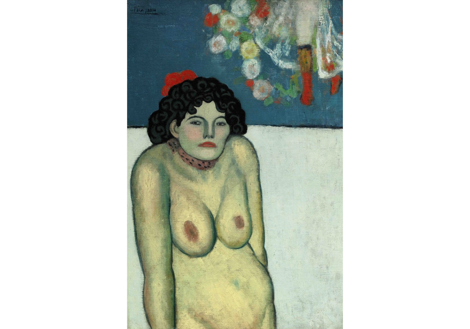Pablo Picasso, La Gommeuse, 1901. Price Realized: $67,450,000. Courtesy Sotheby's.