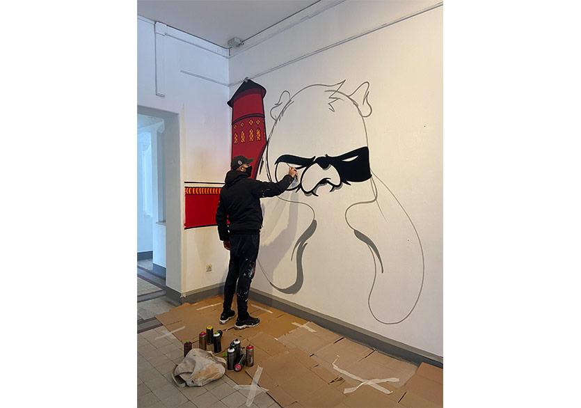 "Saype ve Leo Lunatic ile Masterclass ""Land Art & Street Art"""