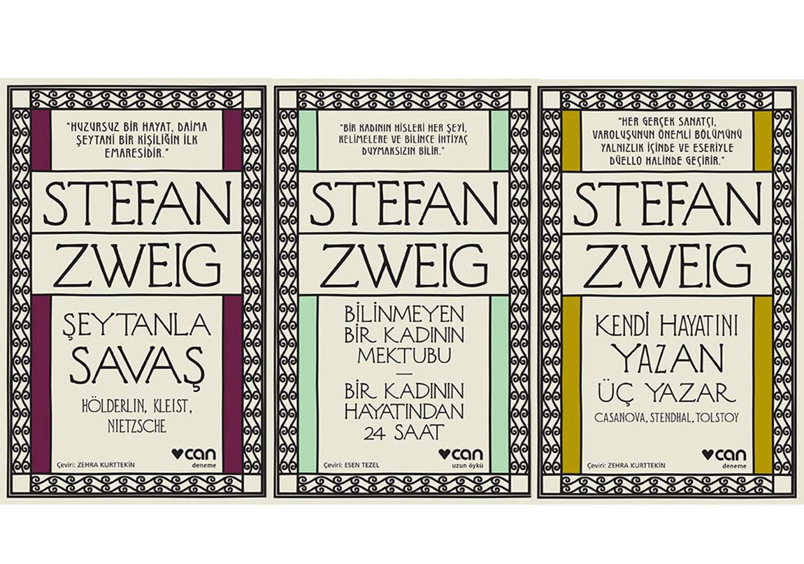 Stefan Zweig'tan Üç Çarpıcı Eser