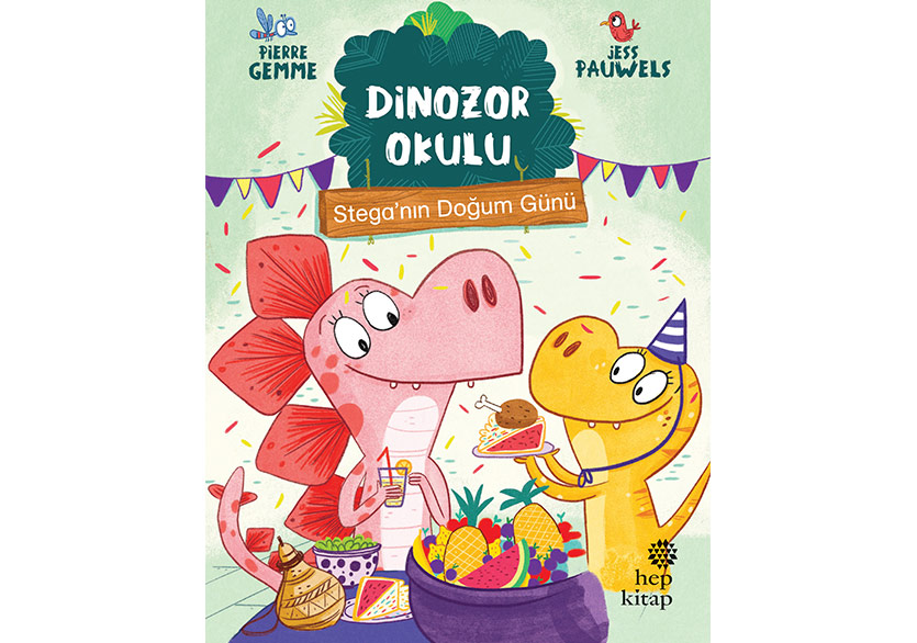 Okumayı Sevdiren Seri: Dinozor Okulu