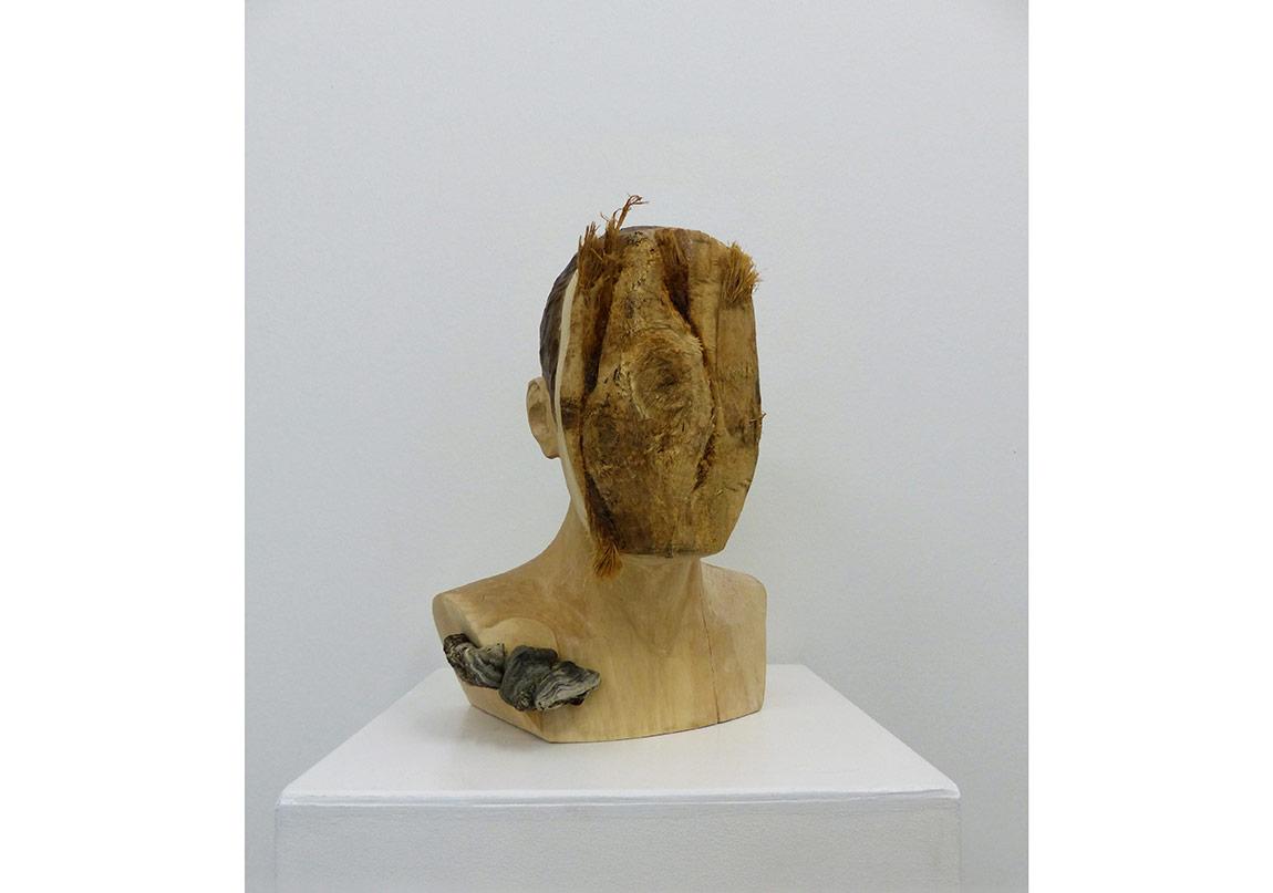 Yasam Sasmazer, Untitled (F.H.), 2016, 34x38x26cm