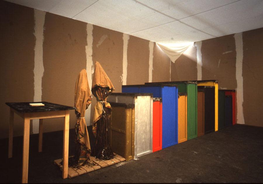 1991, Paysage (brûlé)