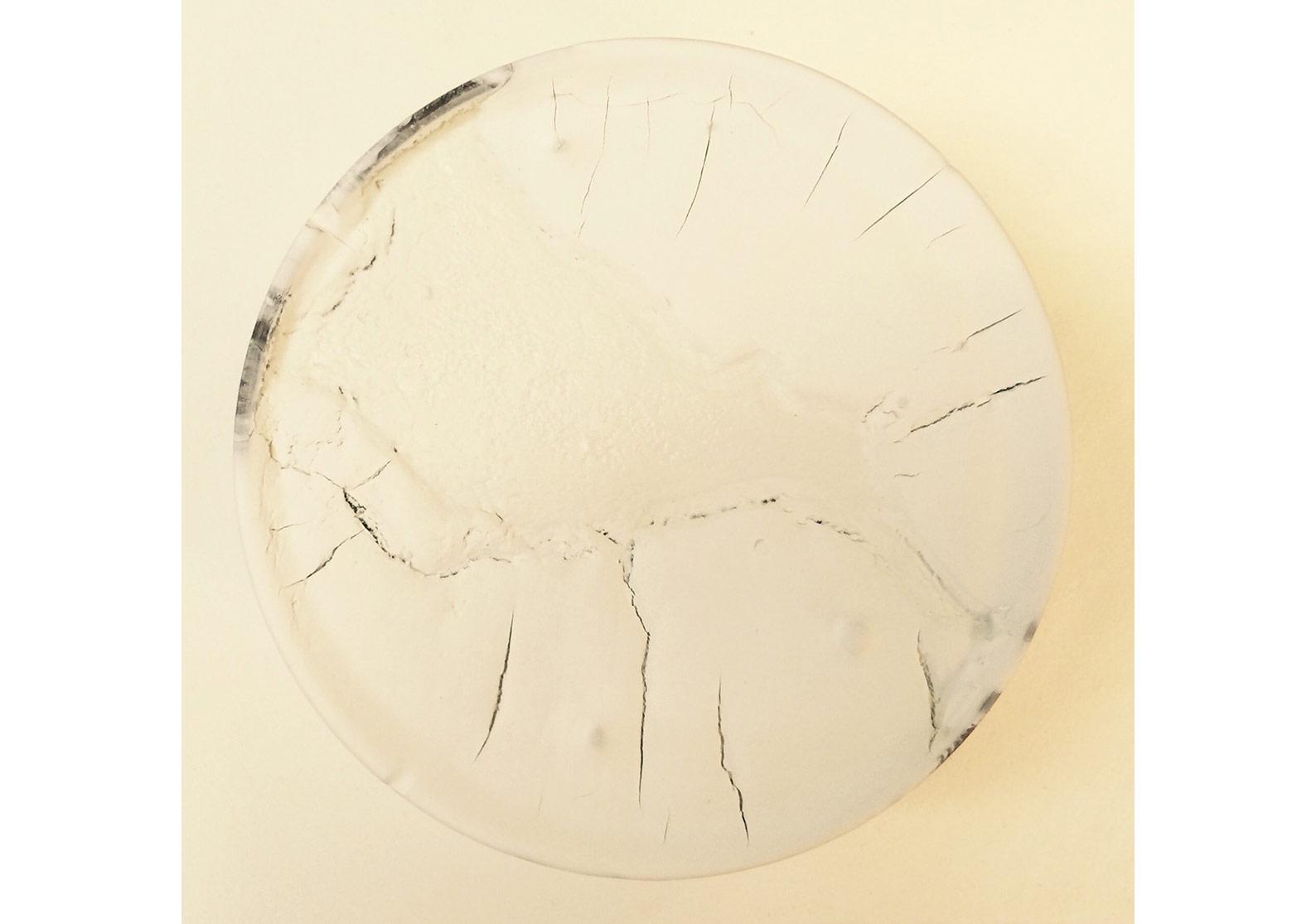Boğaz, 2015, tuval üzerine karışık teknik, 20×20cm