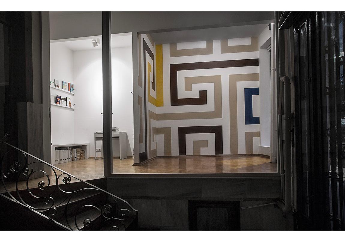 Liam Gillick,Dış Saha Şeması (Geleneksel Kelt, M.Ö. 200 dolaylarında), 2000.Stillpass Koleksiyonu'nun Dış Saha Şemasıisimli sergiden, 2014.