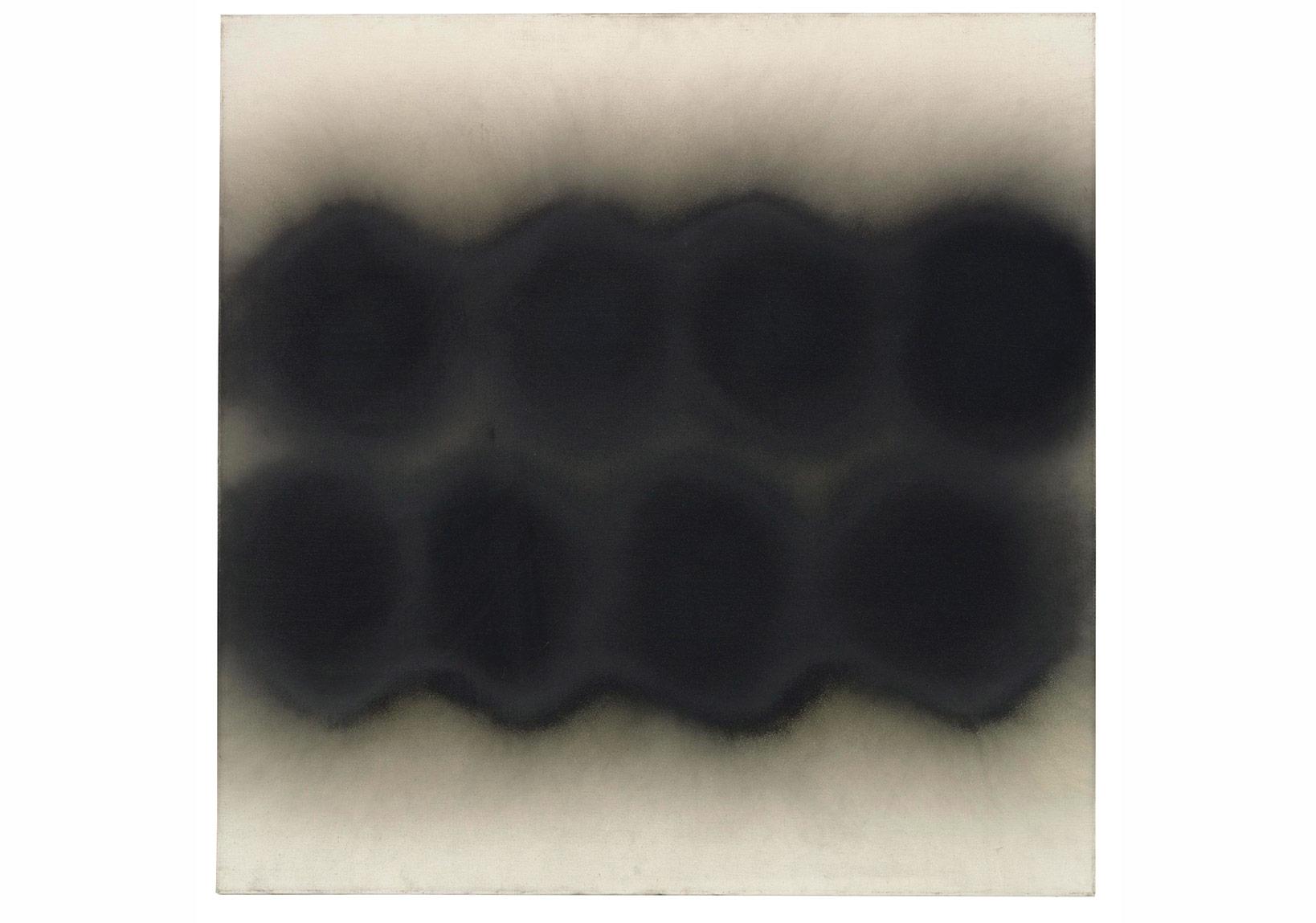 Otto Piene - Karanlıkta İki Dalga