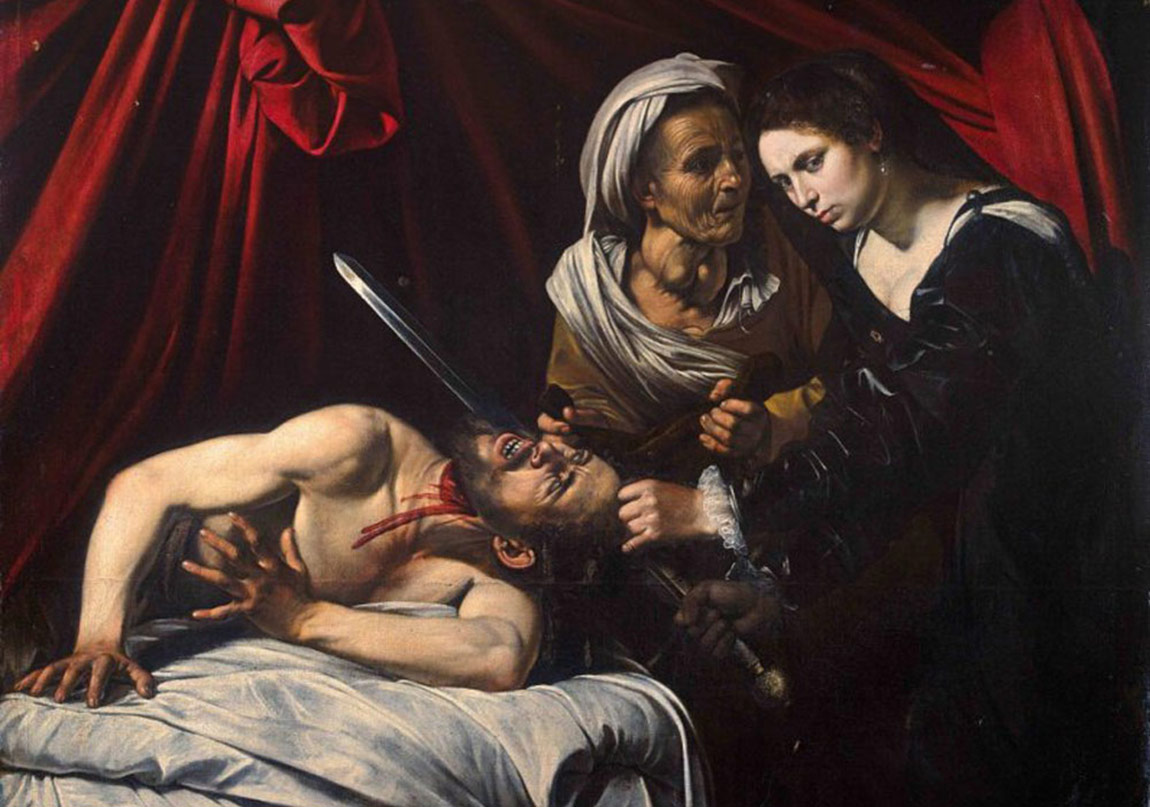 Michelangelo Merisi da CaravaggioJudith Beheading Holofernes