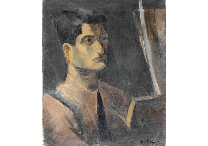 Bedri Rahmi Portre, 1934 Tuval Üzerine Yağlıboya
