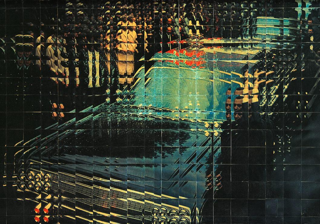 Sarkis, A Melbourne Serisi (1966-1967), Baskı, 110x110 cm.