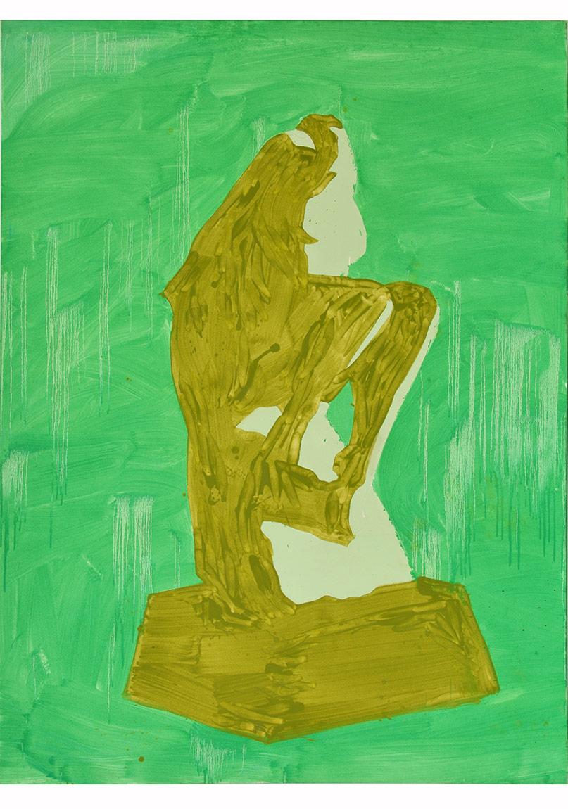 Can Aytekin, 2014, Tuval Üzerine Yağlıboya, 200 x 150 cm