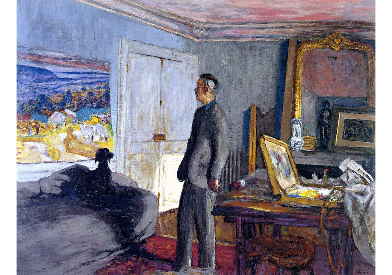 Edouard Vuillard, The Anabaptists - Pierre Bonnard, 1930-37, Musée d'Art Moderne de la Ville de Paris.