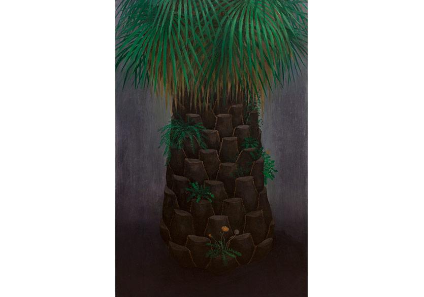 AYLİN ZAPTÇIOĞLU -İSİMSİZ / UNTITLED2017Tuval üzerine yağlı boya / Oil on canvas130 x 80 cm