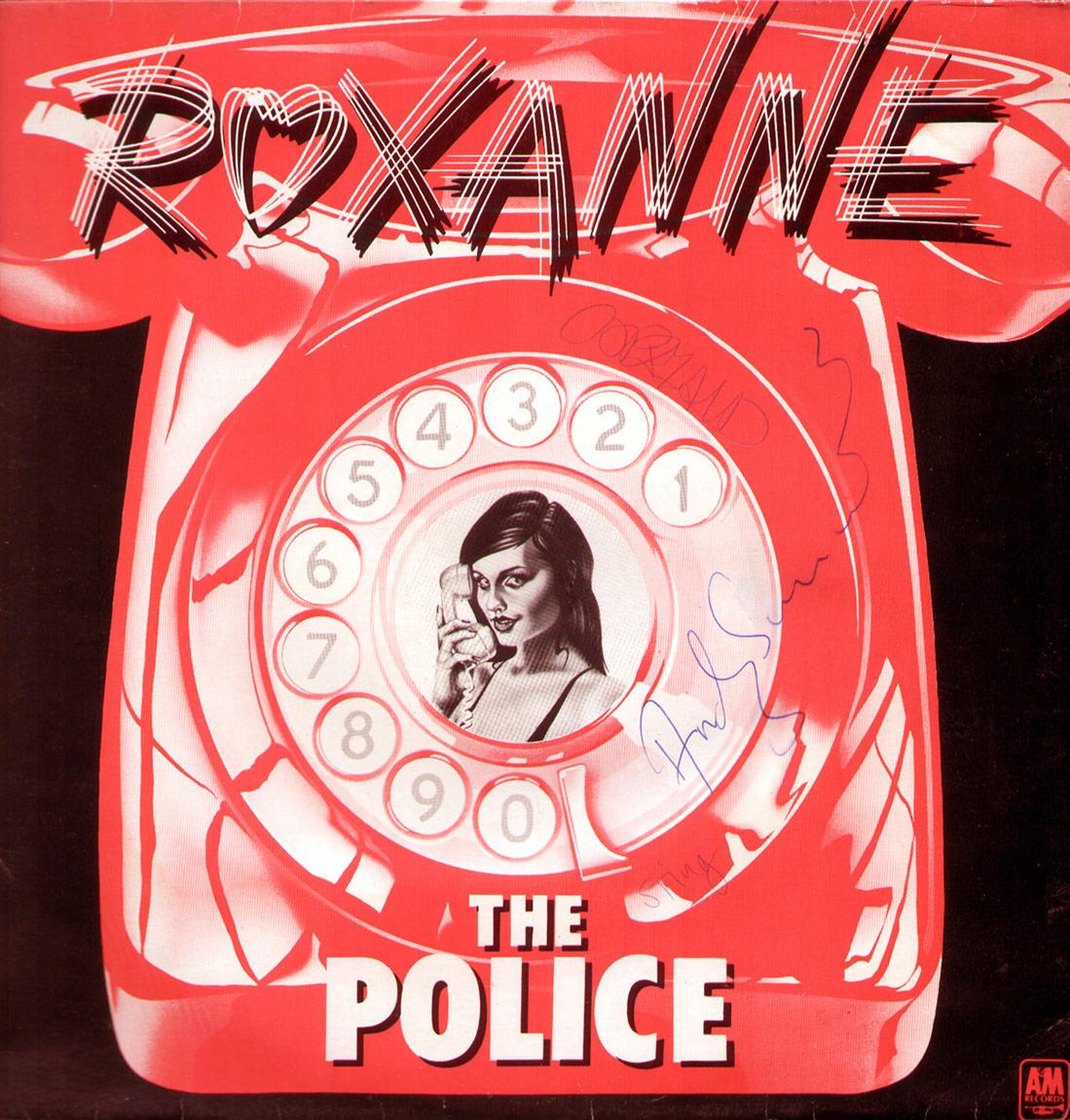 Huysuz'a ilk sevgilisi Sıpa'nın dinlettiği The Police'in Roxanne Albüm Kapağı, 1978.