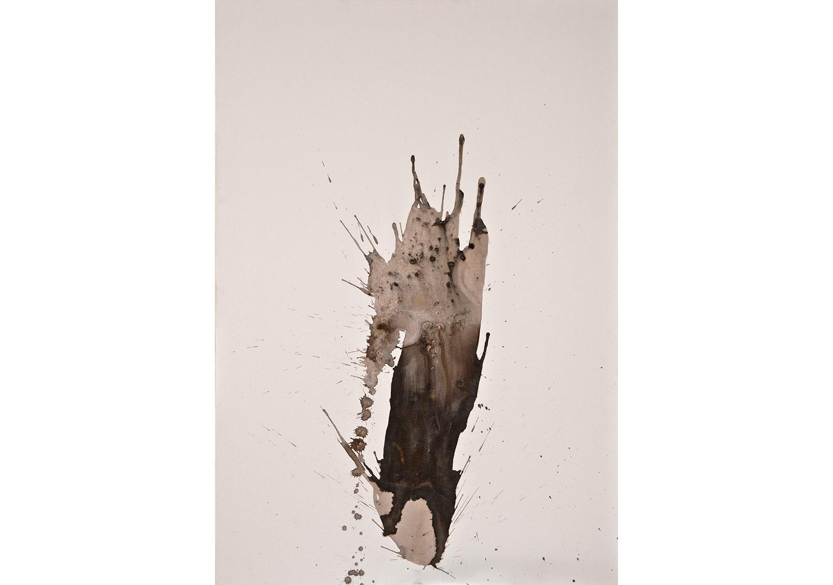 isimsiz, 2015, tuval üzerine karışık teknik, 110 x 160 cm