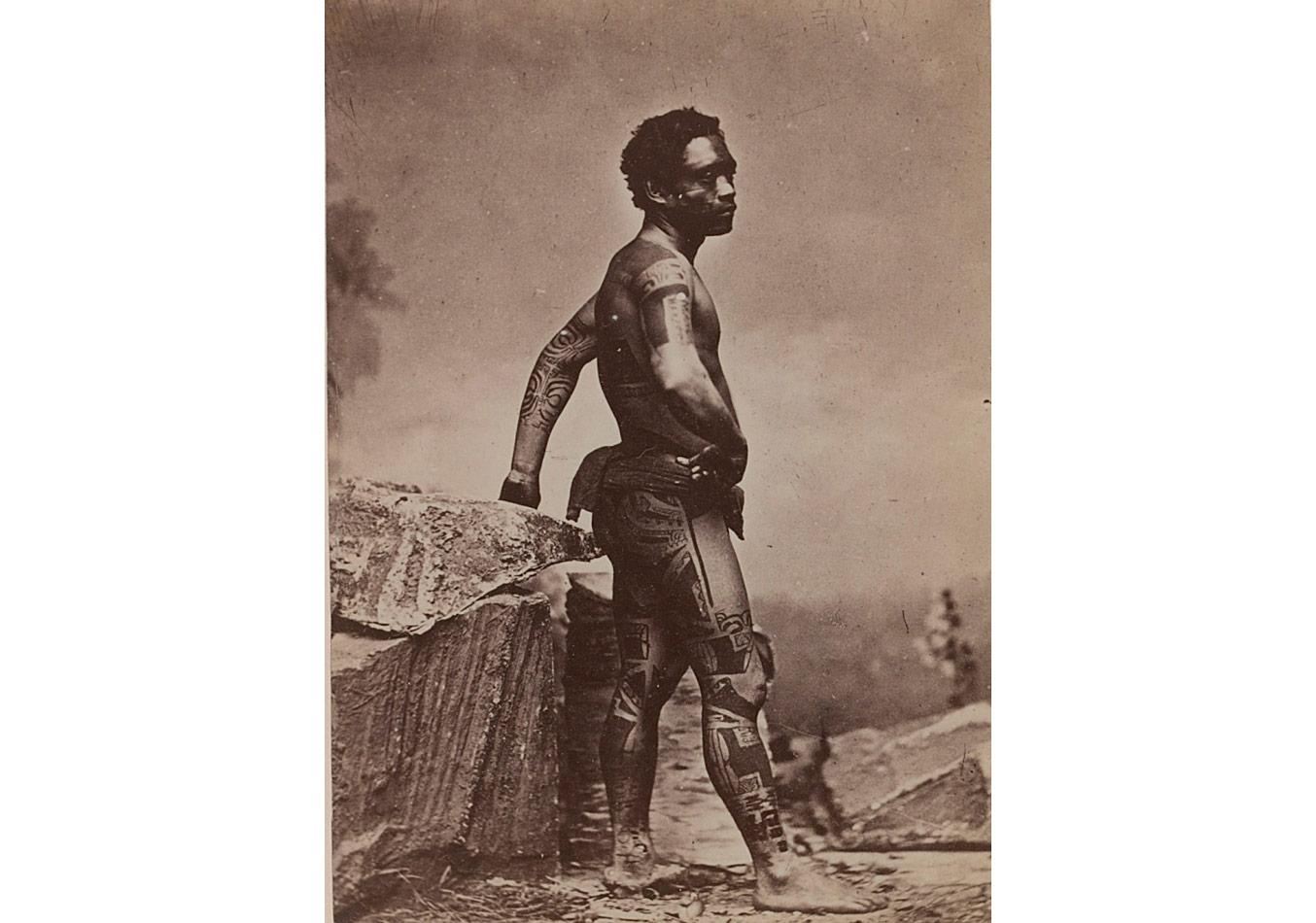 S.Hoare, Markiz yerlisi, 1880-1885 © Musée du quai Branly / Photo Scala, Floransa