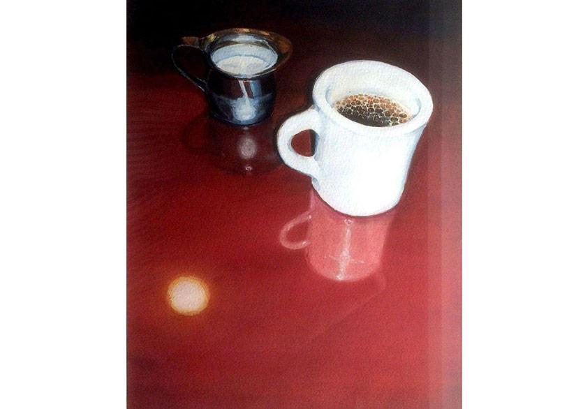 Dike Blair,Untitled (Coffee Cup),1997,Wilding Cran Gallery