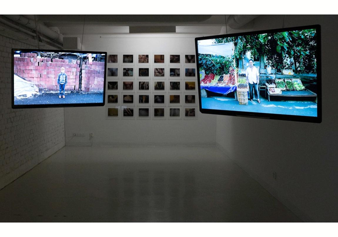 ©Volkan Kızıltunç, 'Muhteşem Olmayan'ın Trafo Center for Contemporary Art'taki 'Visible and Invisible' sergisindeki sunumundan, 2015