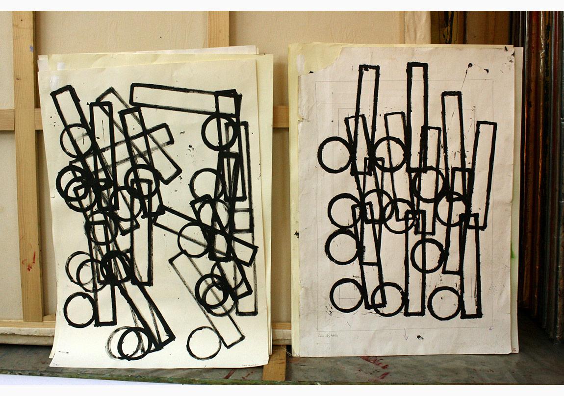 Atölyeden Görüntü, Grup Portre Serisi, d Grubu, 2010,