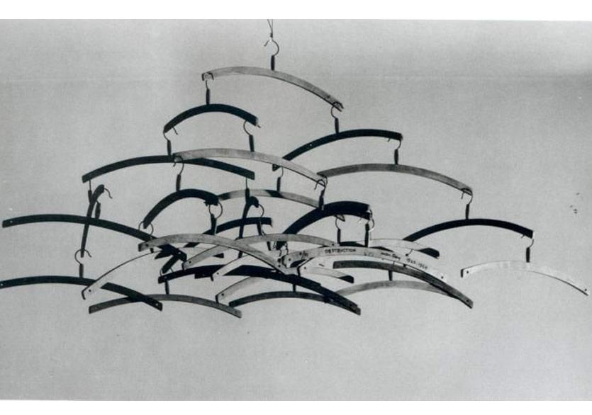 Man Ray,Obstruction (Coat Hangers), 1948