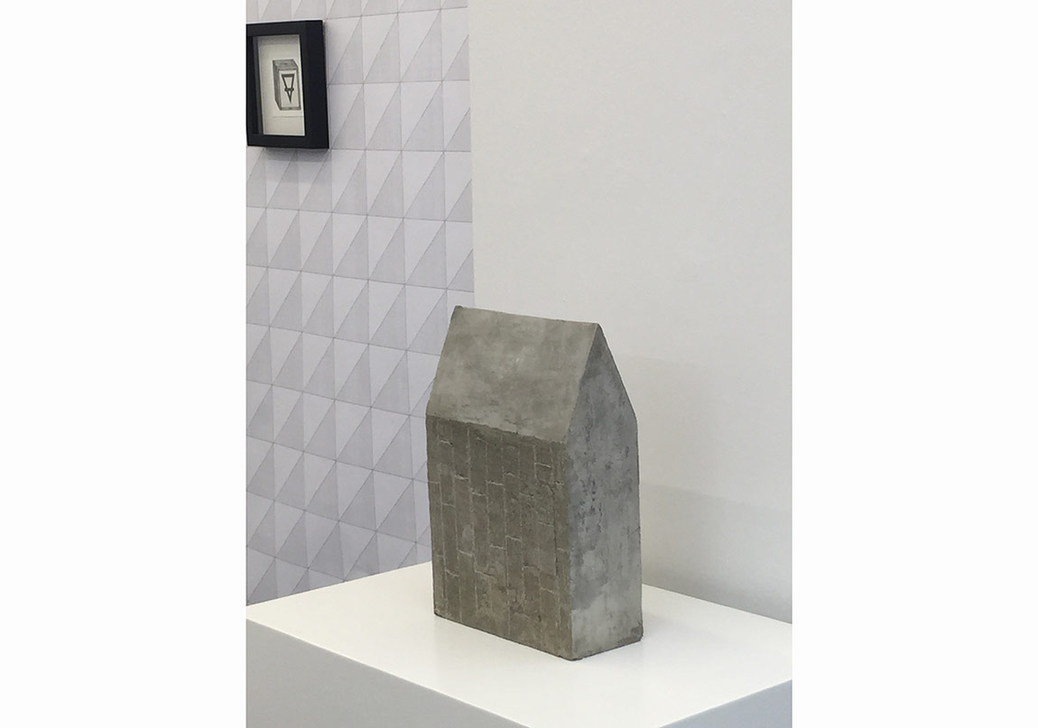 Yuşa Yalçıntaş, 1. Column, 2016, concrete, 34 x 23 x 10 cm(2)