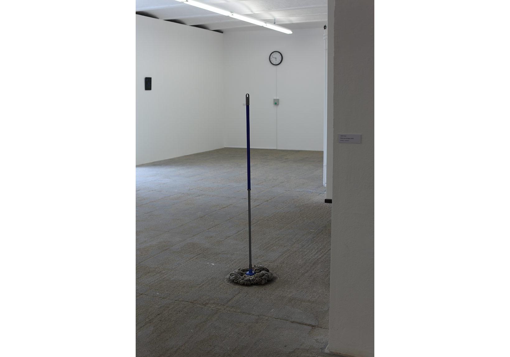 Kirli ve kibirli, Heykel, 2012Dirty and Arrogant, Sculpture, 2012+++Vileda sweeperÖzel Koleksiyon, Private CollectionFotoğraf, Photo: Vahit Tuna