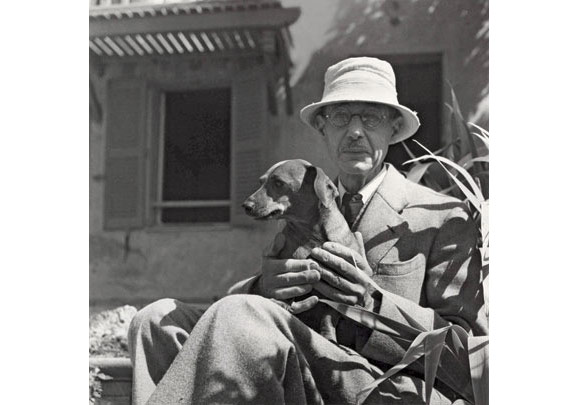 Pierre Bonnard, Photo by André Ostier, 1941, Courtesy of National Gallery of Australia.