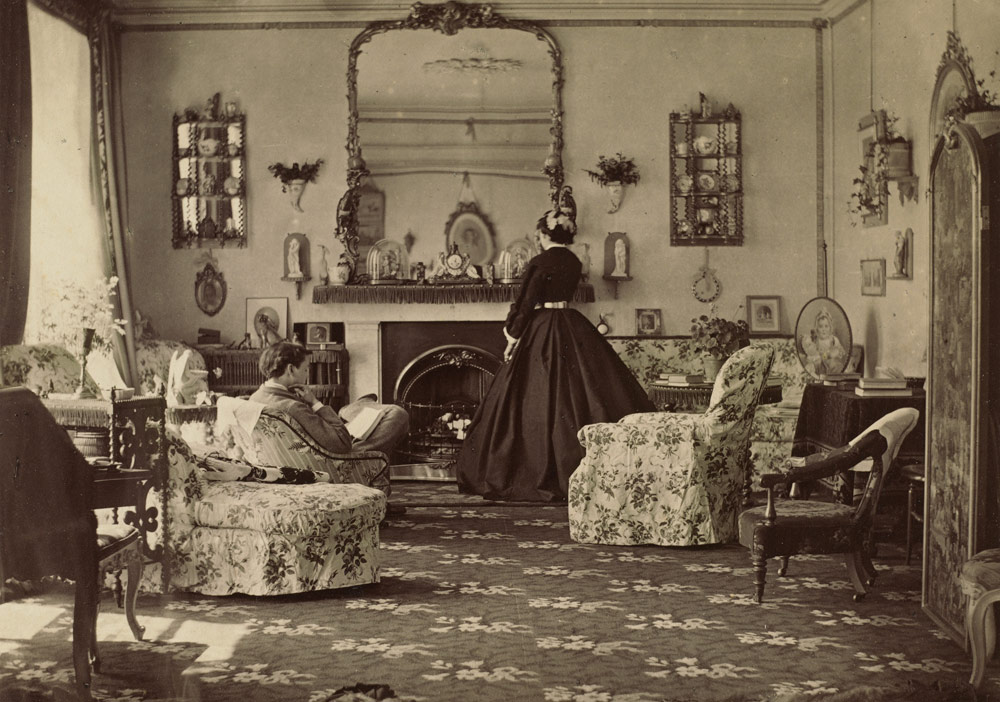 Lady Frances Jocelyn (1820-1880), Ev içi, 1865 © Washington National Gallery of Art izniyle