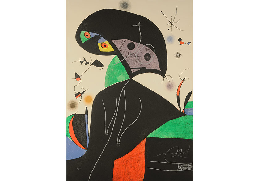 Joan Miró Yeniden İstanbul'da!