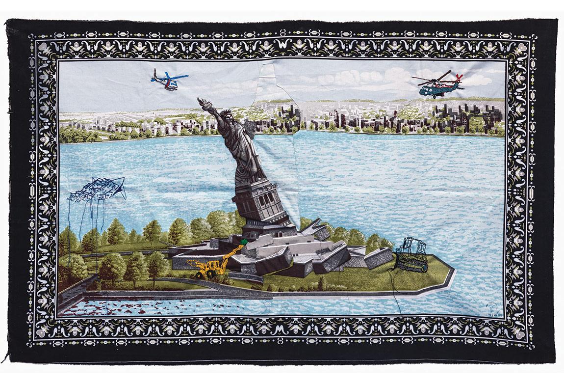Gözde İlkin, Dünya Yeniliği, 2012, 95x150 cm