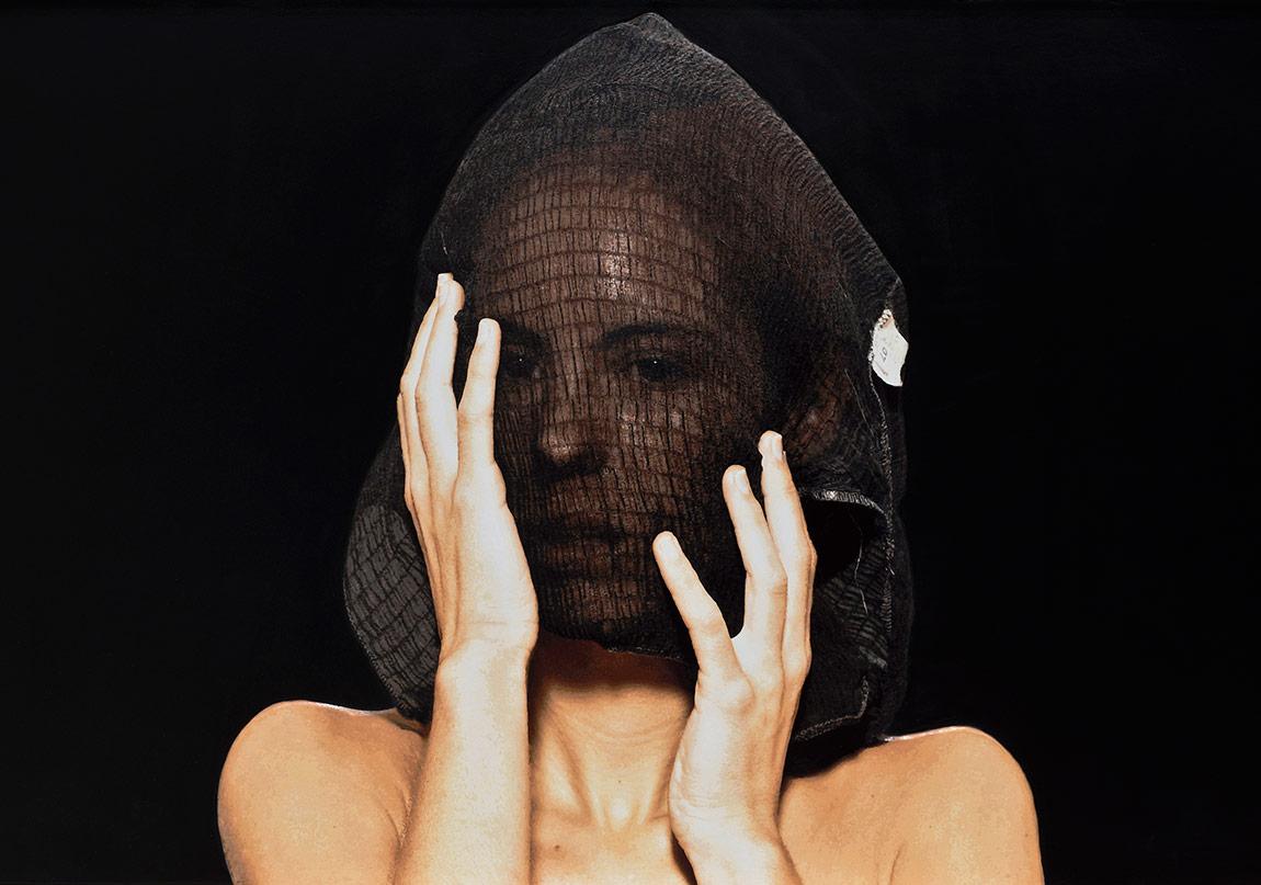 Serkan Adın, 'Ask 40 Beden Giyer', Alüminyum, ahşap, petg, kağıt ve silikon üzerine akrilik ve epoksi, 123 x 195 x 5 cm, 2016