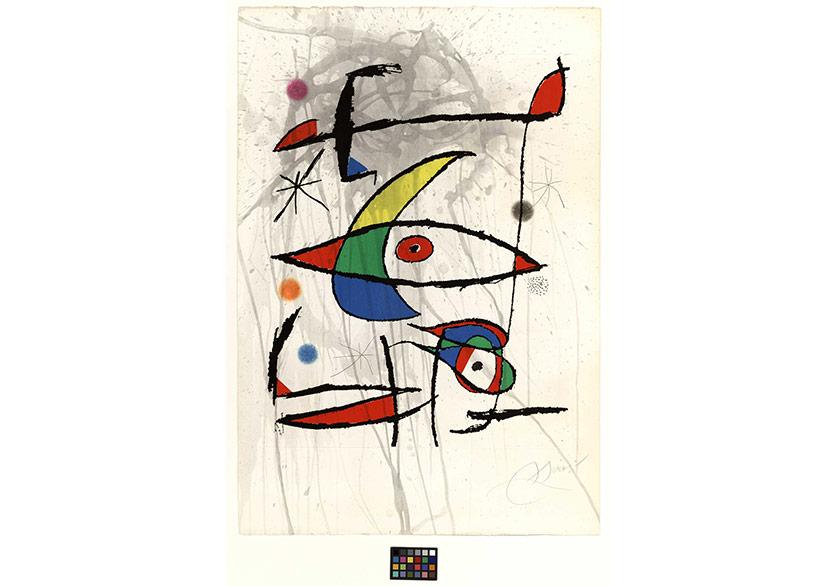 Joan Miró'nun Rengarenk Dünyası