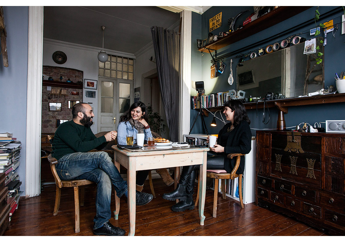 Sevim Sancaktar, Selim Süme, Naz Cuguoğlu @Korhan Karaoysal