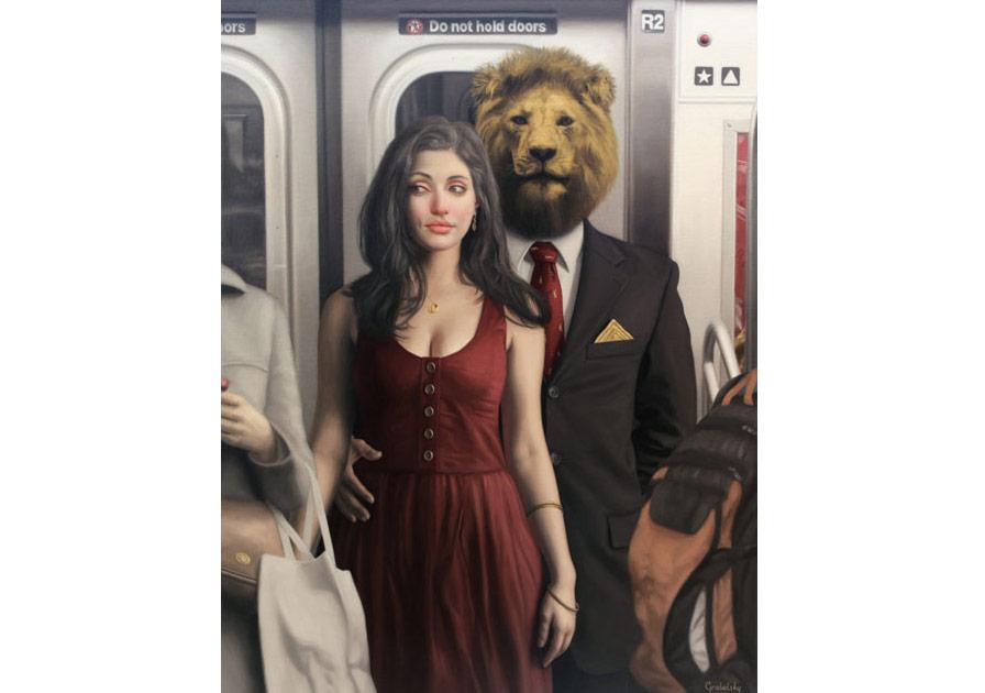 New York Metrosunda Arz-ı Endam Eden Hayvanlar