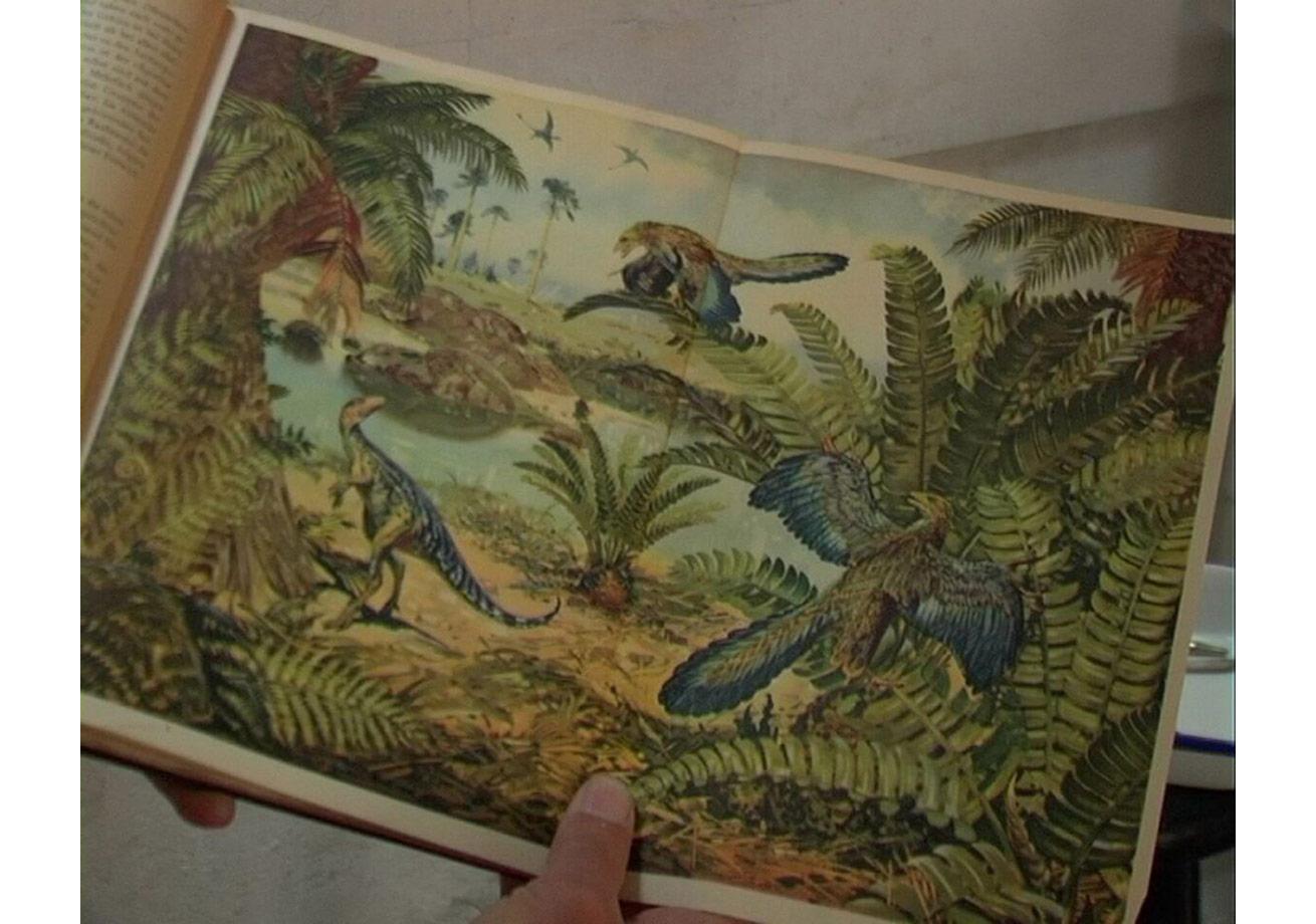 Emre Hüner'inJuggernaut(2009) videosundan bir kareSanatçı, Rodeo Gallery ile Bilge ve Haro CümbüşyanKoleksiyonu'nun izniyle