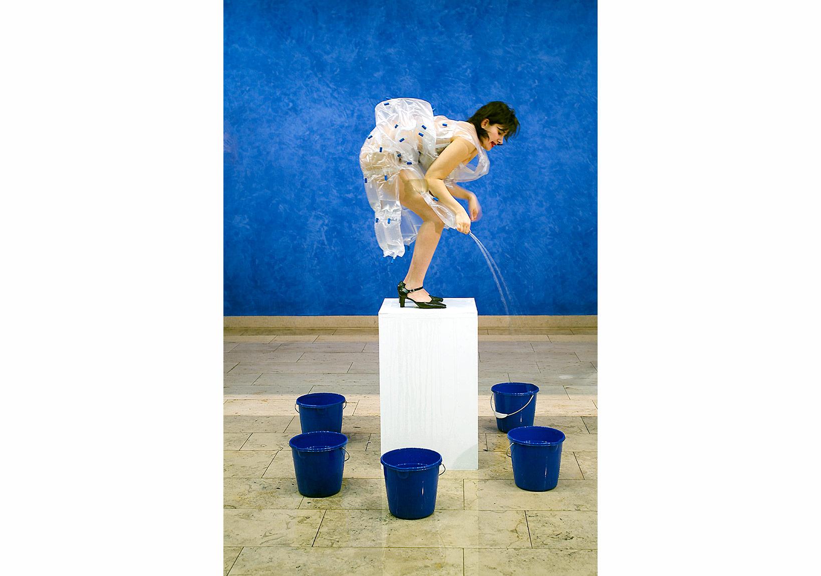Nezaket Ekici,FountainPerformance and Photoedition since 2004Photo by: André R. Jenchen