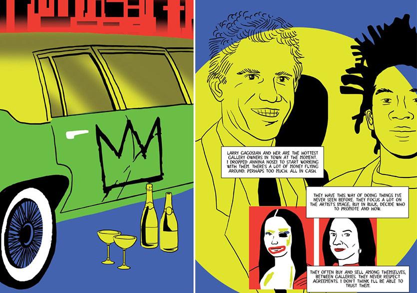 Basquiat'ın Hayatı Çizgi Roman Oluyor
