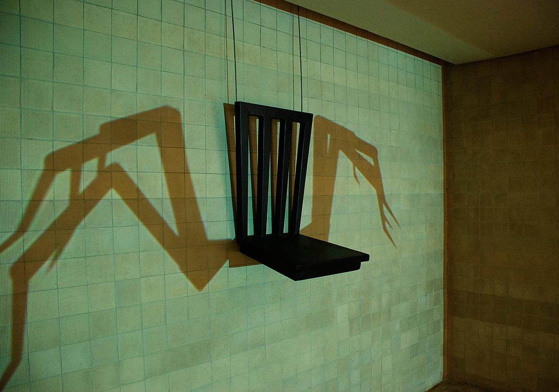 Yeni Bir Beden icin Eskiz / Sketch for a New Body,©Merve Kilicer, video heykel,01 2011