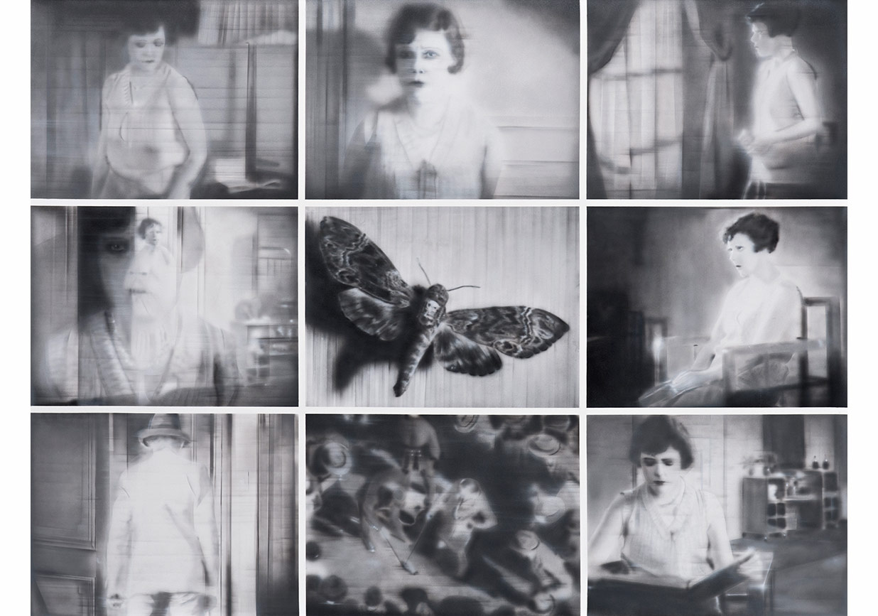 """Engin Konuklu, """"Butterfly""""Tuval üzerine akrilik, 170 x 220 cm, 2015"""
