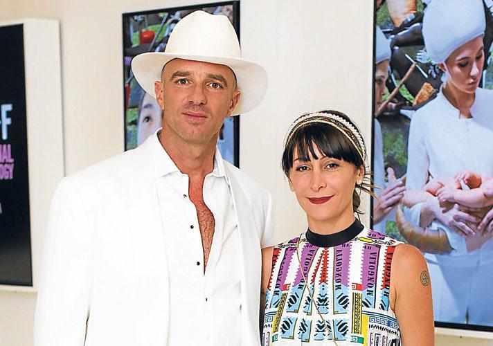 Alan Faena ve Ximena Caminos