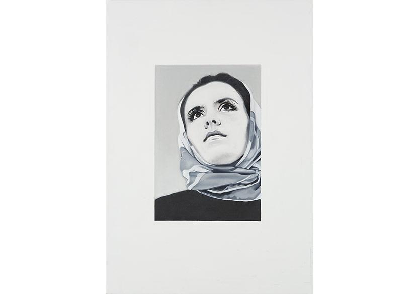 Leyla Gediz Femme Oil on canvas 2016 100 x 70 x 2,5 cm Unique_THE PİLL