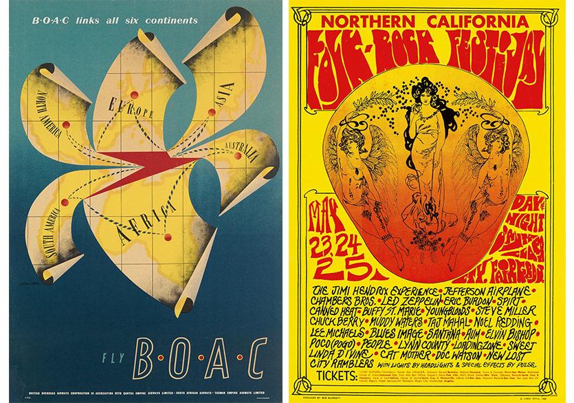 Üç Farklı Yüzyılın En İyi Posterleri Açık Arttırmada
