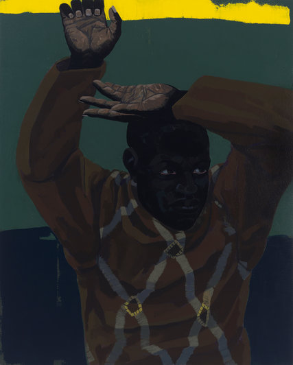 "Kerry James Marshall, ""Untitled"" (Looking Man)"