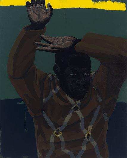 "Kerry James Marshall, ""Untitled"" (Looking Man)"
