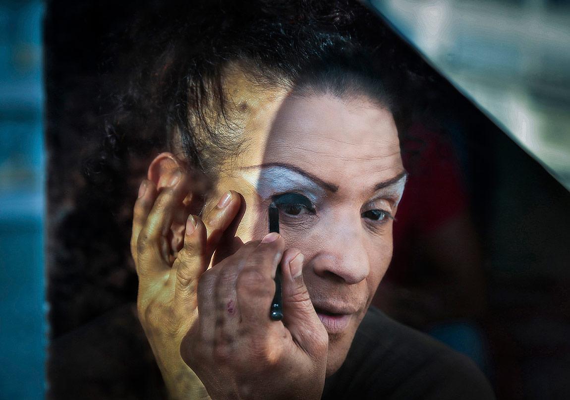 Damla Atak, 'Trans Misafirhanesi' gösterisinden [II. Belgesel Fotoğraf Günleri]