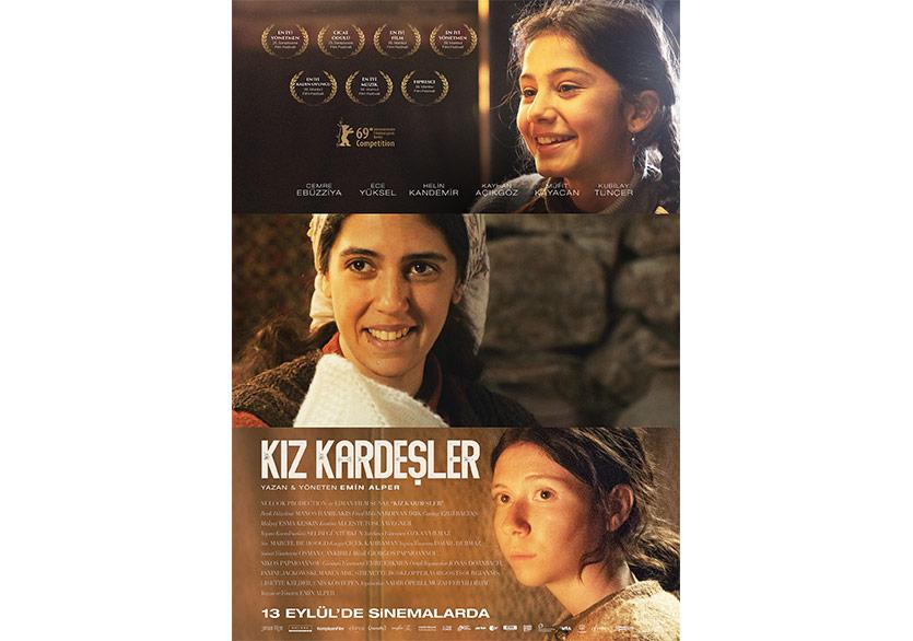 Kız Kardeşler'in Fragman ve Vizyon Afişi Yayımlandı